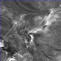 High resolution observation of AR11967